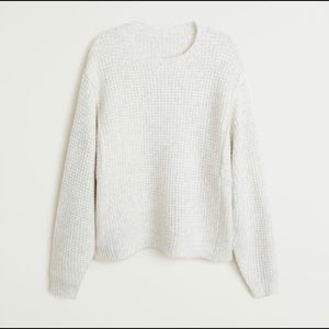 Textured Crew Neck Sweater